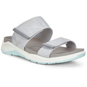ECCO X-Trinsic Sandalen Dames, grijs/wit